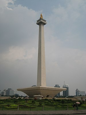 Symbolizing the Indonesian struggle for indepe...