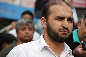 English: Naiz Khan, target of an FBI terror in...
