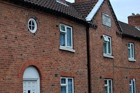 English: Ancient Corporations Cottages in Retford