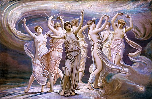 The Pleiades (Elihu Vedder)
