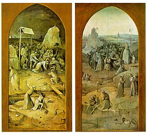 Reverse of the left and right panels of a trip...