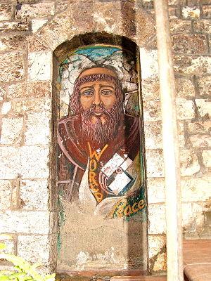Assisi-San Francesco murale