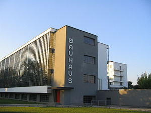 The Bauhaus Dessau architecture department fro...