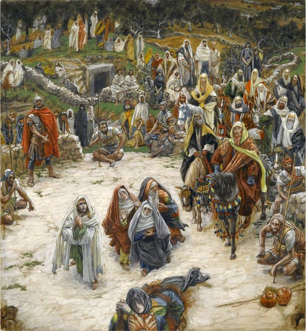 """""""Crucifixion, seen from the Cross"""" by James Tissot"""