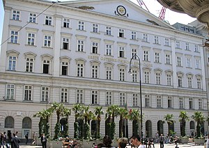 Headquarters of the bank Erste Bank, in Vienna...