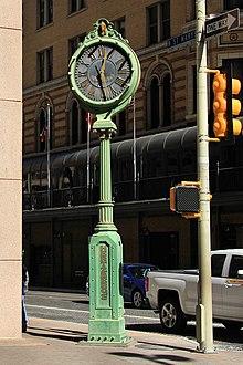 Hertzberg Clock San Antonio  Wikipedia
