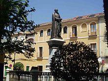 Juan de Mariana, Plaza homónima en Talavera de la Reina.
