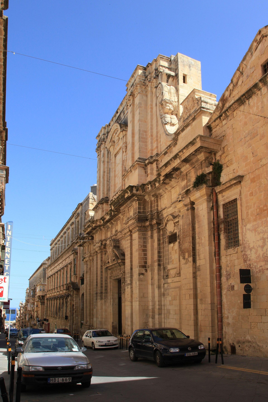 Church of the Jesuits Valletta  Wikipedia