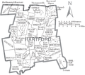 File:Map of Hartford County Connecticut With Municipal