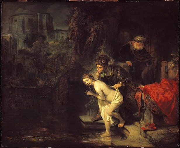 Rembrandt - Susanna and the Elders
