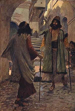 Saul meeteth with Samuel