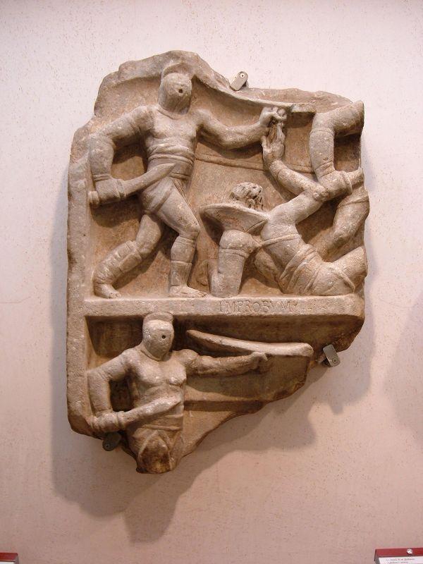 Ancient Roman Gladiators Retiarius