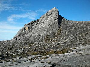 Summit of Mount Kinabalu.