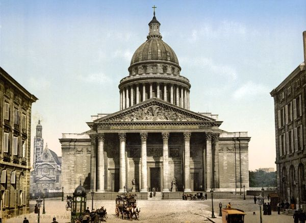 File Pantheon Paris France Ca. 1890 And Ca