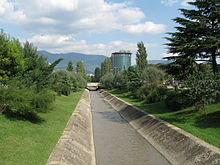 Lana River and nearby Rinia Park were restored to pre-1990s state in Tirana
