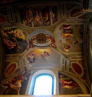 Trinità dei Monti, Capella della Rovere, fresc...