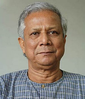 Dr. Muhammad Yunus, Nobel peace prize, 2006