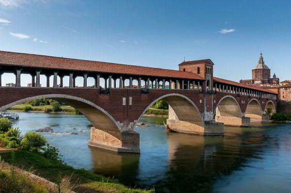 Ponte Coperto Pavia Wikipedia