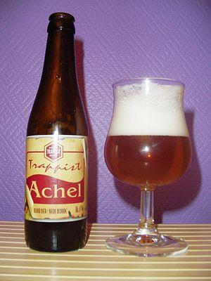 Achel trappist beer (Belgium).