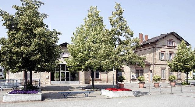 Bahnhof Bensheim Auerbach
