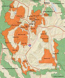 Beaverhead-Deerlodge National Forest - Wikipedia
