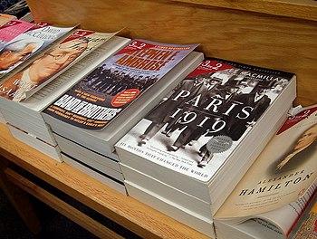 Books in the Douglasville, Georgia Borders store.