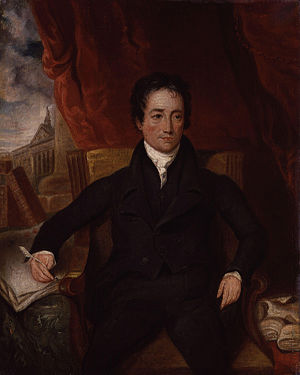 Charles Lamb, by Henry Hoppner Meyer (died 184...