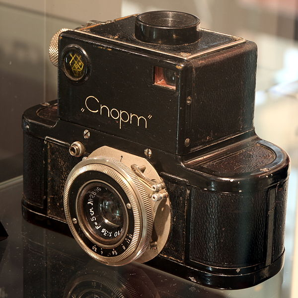 "Soviet Union's ""Cnopm"" - ALMOST the first 35mm SLR camera"