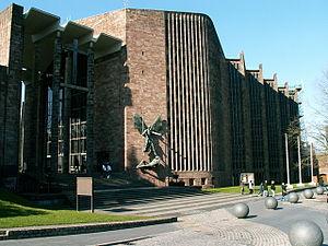 English: Coventry Cathedral Coventry Cathedral...