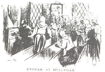 English: Antonin Dvorak in Spillville (Iowa) Č...
