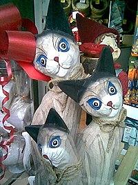 I gatti sono spesso fonte di ispirazione per lavori artistici
