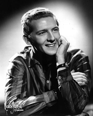 Publicity photo of Jerry Lee Lewis.