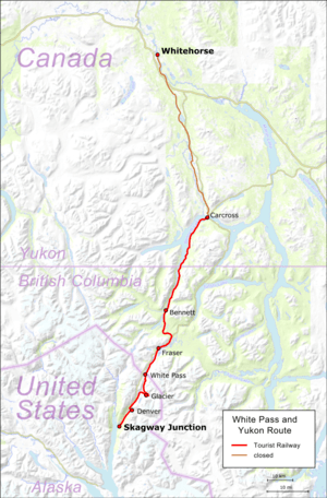 Amtrak Via Map : amtrak, White, Yukon, Route, Wikipedia