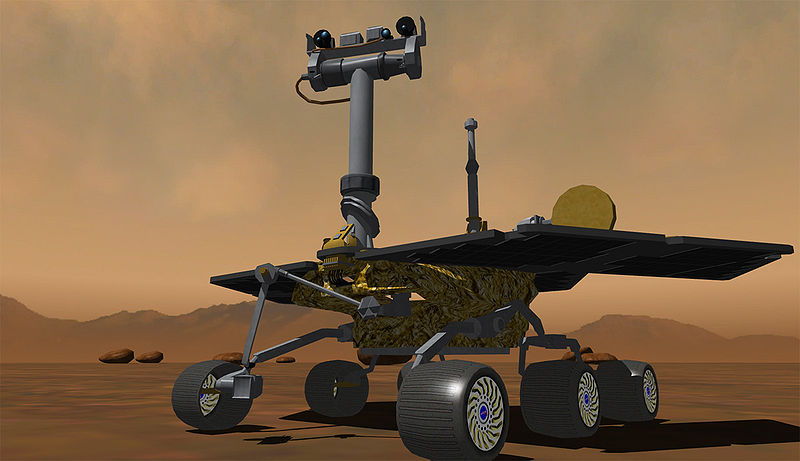 3D model of Mars Rover