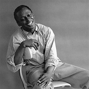Jazz musician Miles Davis.