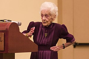 The 98 year-old mother of neuroscience special...