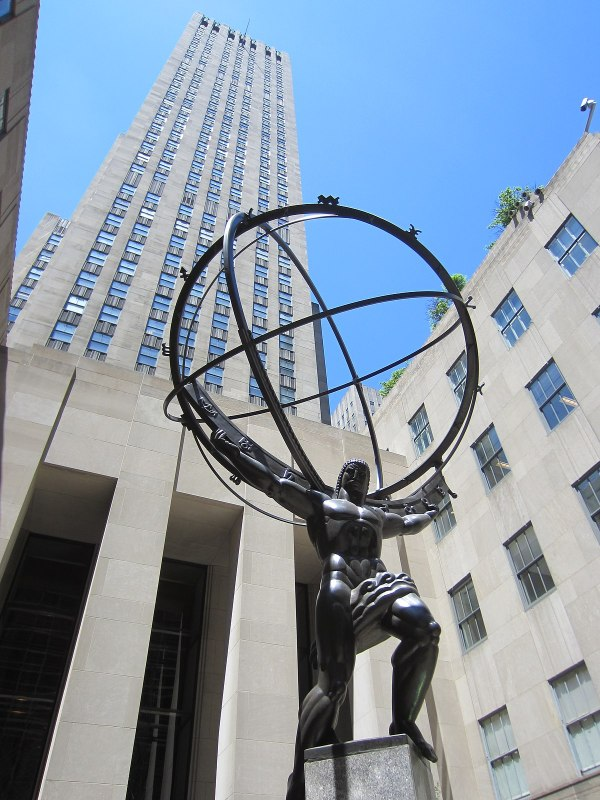 Atlas Statue - Wikipedia