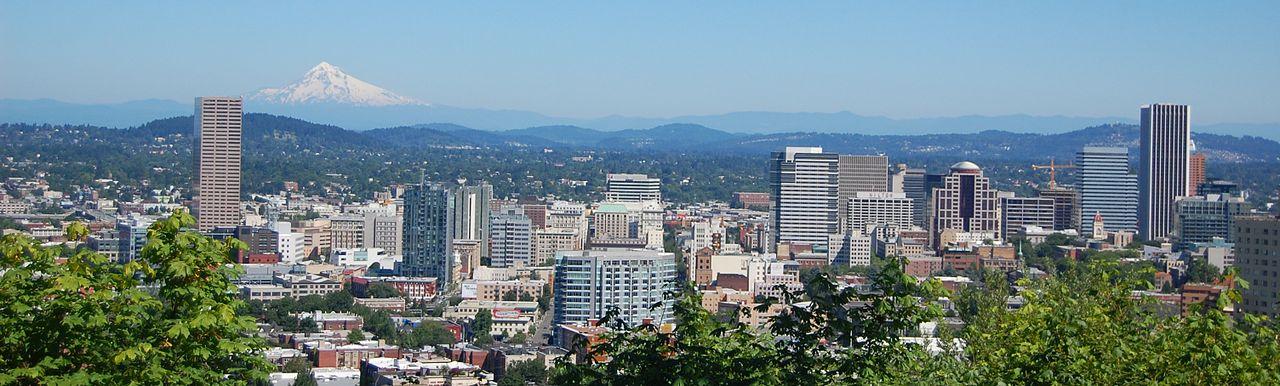 Portland's skyline