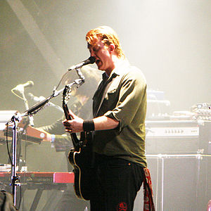 English: Queens of the Stone Age at the Eurock...