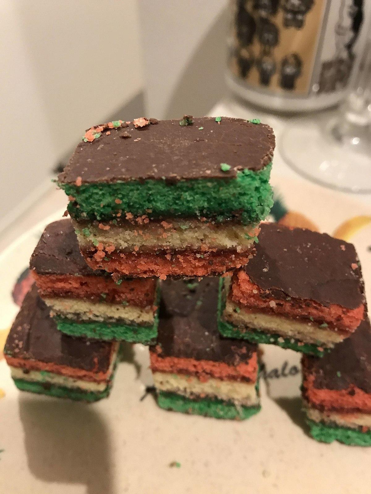 Rainbow Cookie Wikipedia