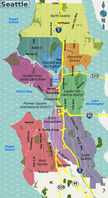 Seattle  Travel guide at Wikivoyage