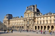 File South Facade Of Richelieu Wing Louvre Museum 2