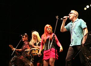 The B-52s at Festival Internacional de Benicàs...