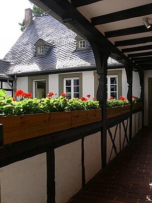 Trier, Karl-Marx-Haus, Innenhof