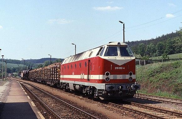德國國營鐵路119型柴油機車 - Wikiwand
