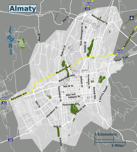 Almaty  Travel guide at Wikivoyage
