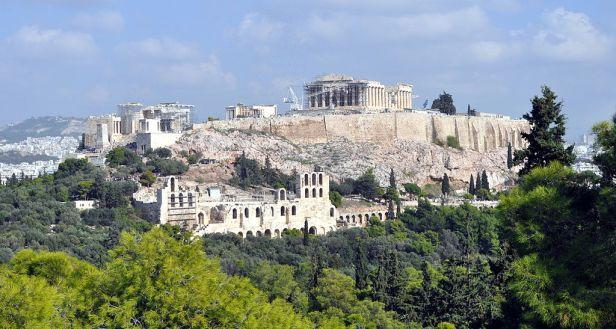 Athens - view of Acropolis 05