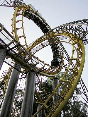 Loch Ness Monster roller coaster at Busch Gard...