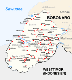 Subdistrict Suco And City Of Balibo