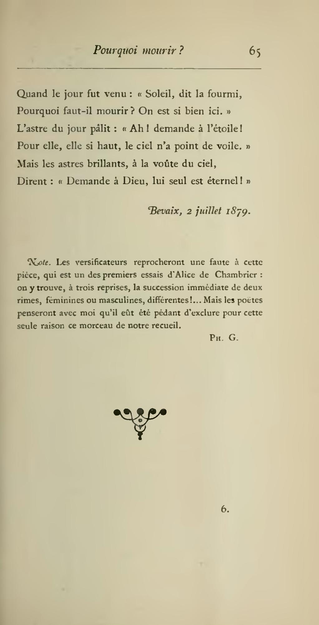 Mais Si Faut Il Mourir : mourir, Page:Chambrier, Delà, (Fischbacher, 1886).djvu/89, Wikisource